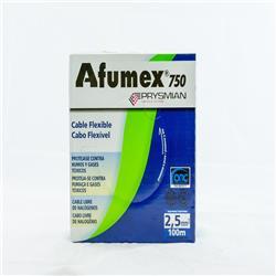 MTS.CABLE AFUMEX 750 2.5MM MARRON