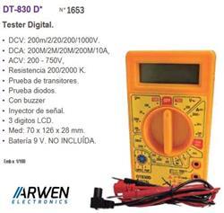 TESTER DIGITAL        DT-830B