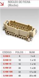 NUCLEO MACHO  6 POLOS G-NM-6