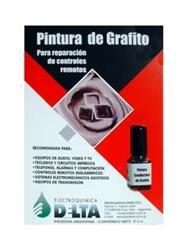 PINTURA DE GRAFITO P/REPARACIÓN DE CONTROL REMOTO. 5cc. GRA