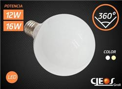 LAMPARA LED GLOBO  16 W CALIDA 1500LM