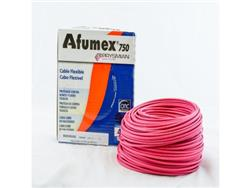 MTS.CABLE AFUMEX 750 4 MM ROJO