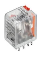 RELE 2I/10A 220VCA C/LED PATA FINA DRM270 WEIDMULLER