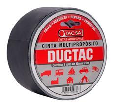 CINTA DUCT-TAC 48MX9 MTS NEGRO 891